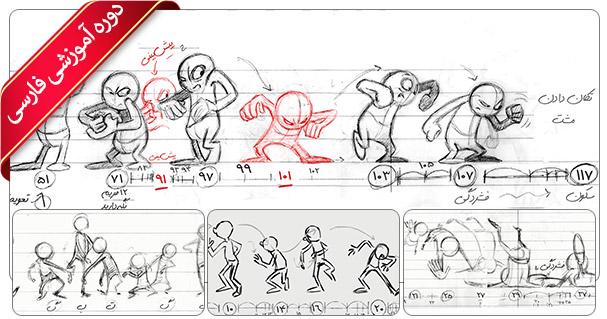 آموزش انیمیشن سازی دو بعدی - آموزش بریک دان و تامبنیل ها در انیمیشن