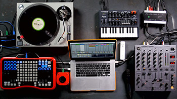 آموزش ایبلتون Lynda - DJing with Ableton Live
