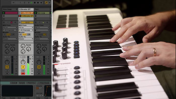 آموزش ایبلتون Lynda - Songwriting in Ableton Live