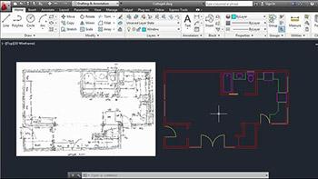 – Lynda – Creating an Architectural Drawing with AutoCAD - ایجاد یک نقشه معماری ساده در اتوکد