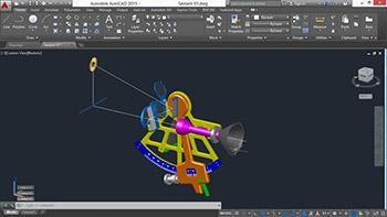 – Lynda – Documenting AutoCAD 3D Models - ترسیم مدل های سه بعدی در اتوکد