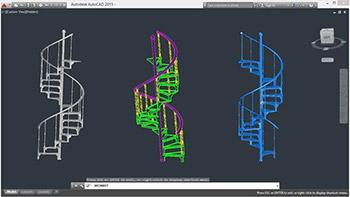 – Lynda – Modeling a Staircase With AutoCAD - مدلسازی یک راه پله در اتوکد