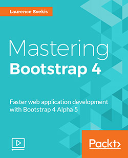 آموزش بوت استرپ Packt Publishing - Mastering Bootstrap 4