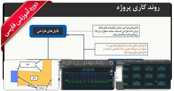 آموزش سیویل تری دی - آموزش Civil 3D