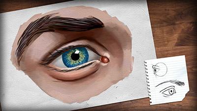 Digital Tutors – Drawing the Human Eye in Photoshop - طراحی دیجیتالی چشم انسان در فتوشاپ