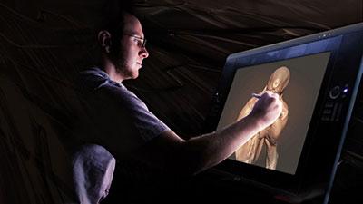 Digital Tutors – Maximizing Your Wacom Device for Mudbox - تکنیکهای نقاشی دیجیتالی با تبلت واکام در مادباکس
