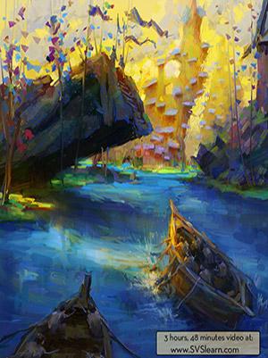 SVS – Digital Painting 1 - آموزش مهارت های نقاشی دیجیتالی – سری اول