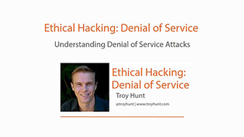 آموزش Pluralsight - Ethical Hacking - Denial of Service