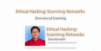 آموزش Pluralsight - Ethical Hacking - Scanning Networks