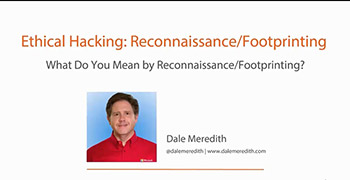 آموزش Pluralsight - Ethical Hacking Reconnaissance-Footprinting