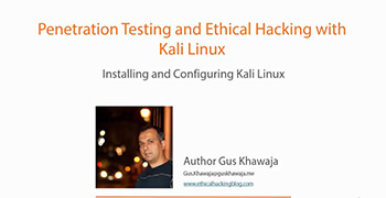 آموزش Pluralsight - Penetration Testing and Ethical Hacking with Kali Linux