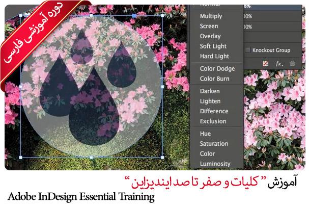 آموزش ایندیزاین سی سی InDesign به زبان فارسی