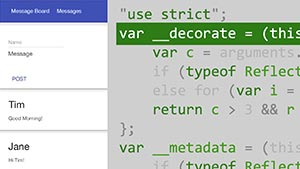 آموزش Lynda - Building a Simple Full-Stack App with Angular 2 and Node.js