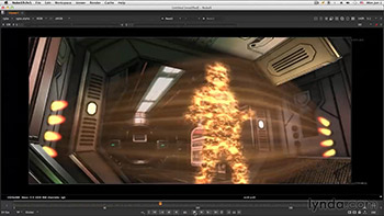 آموزش Lynda - NUKE Compositing Sci-Fi Force Field