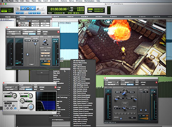 آموزش Groove3 - Creating Game Audio with Pro Tools