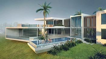 – Digital Tutors – Modeling Impressive Architectural Exteriors in 3ds Max and V-Ray - مدلسازی معماری خارجی یک بنای معماری زیبا با تری دی مکس و وی ری