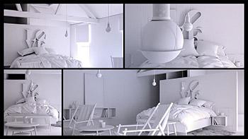 – Digital Tutors – Modeling Realistic Interiors in 3ds Max and Marvelous Designer - مدلسازی یک صحنه واقع گرایانه معماری داخلی با تری دی مکس و Marvelous Designer