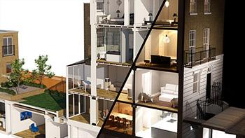 – Digital Tutors – Rendering Day and Night Section Views in 3ds Max and V-Ray - رندرینگ نماهای روز و شب یک ساختمان در تری دی مکس و وی ری