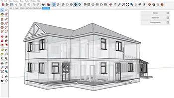 – Lynda – SketchUp for Architecture Fundamentals - اسکچ آپ برای معماری – اصول و مبانی