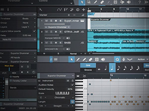 آموزش Groove3 - Recording and Editing MIDI in Studio One 3