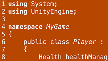 Lynda - Learning C# for Unity Game Development