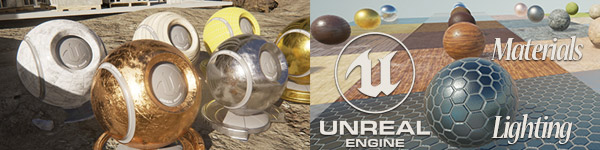 Unreal Engine 4 Materials Lighting