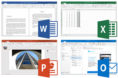 Microsoft Office Softwares 2016