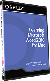 - O'Reilly - Learning Microsoft Word 2016 for Mac - اموزش جامع ورد 2016