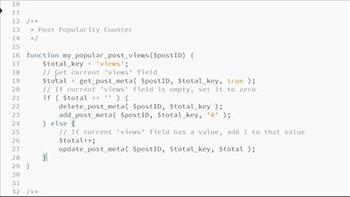 Lynda - WordPress Developer Tips Adding Category Images