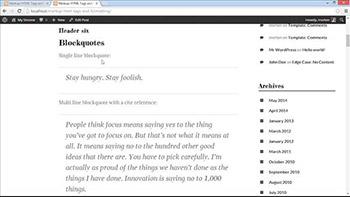 Lynda - WordPress Developer Tips Using Custom Web Fonts