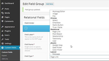 Lynda - WordPress Plugins - Advanced Custom Fields