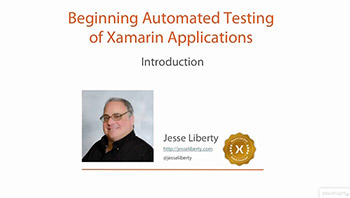 Pluralsight - Beginning Automated Testing of Xamarin Applications