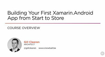 Pluralsight - Building Your First Xamarin Android App from Start to Store