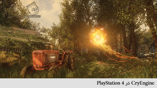 cryengine‌در playstation 4