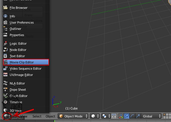 آموزش Blender : نحوه Four Point Tracking