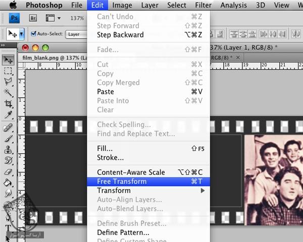 آموزش After Effects : متحرک سازی فیلم عکاسی - آریاگستر