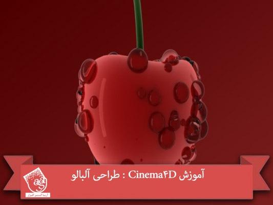 آموزش Cinema4D : طراحی آلبالو