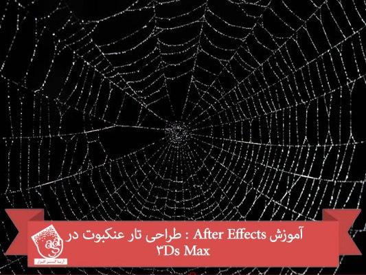 آموزش After Effects : طراحی تار عنکبوت در ۳Ds Max