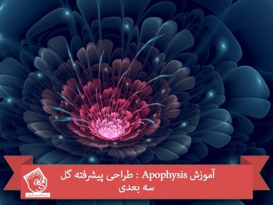آموزش Apophysis : طراحی پیشرفته گل سه بعدی