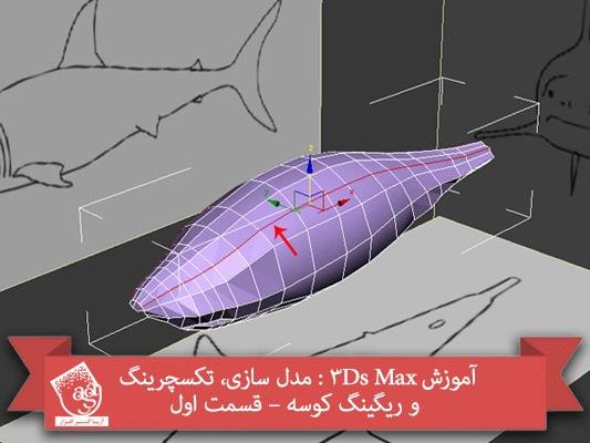 آموزش ۳Ds Max : مدل سازی، تکسچرینگ و ریگینگ کوسه – قسمت اول