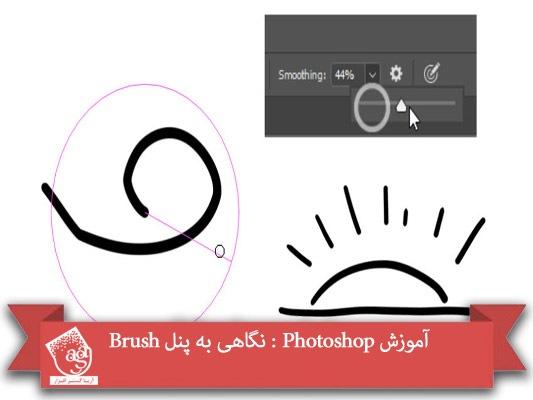 آموزش Photoshop : نگاهی به پنل Brush