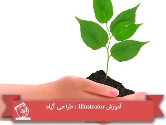 آموزش Illustrator : طراحی گیاه