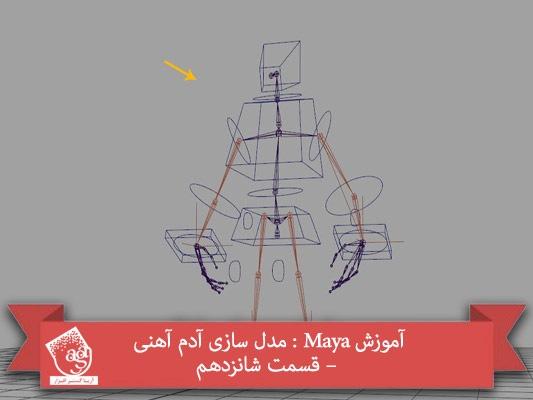 آموزش Maya : مدل سازی آدم آهنی – قسمت شانزدهم