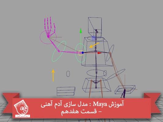 آموزش Maya : مدل سازی آدم آهنی – قسمت هفدهم