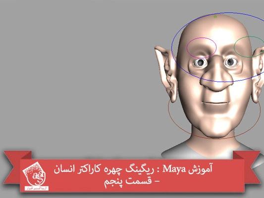 آموزش Maya : ریگینگ چهره کاراکتر انسان – قسمت پنجم